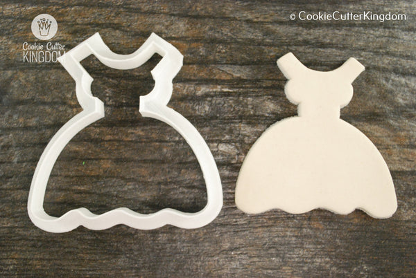 Dainty Dress Cookie Cutter