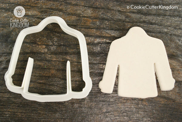 Peacoat Cookie Cutter