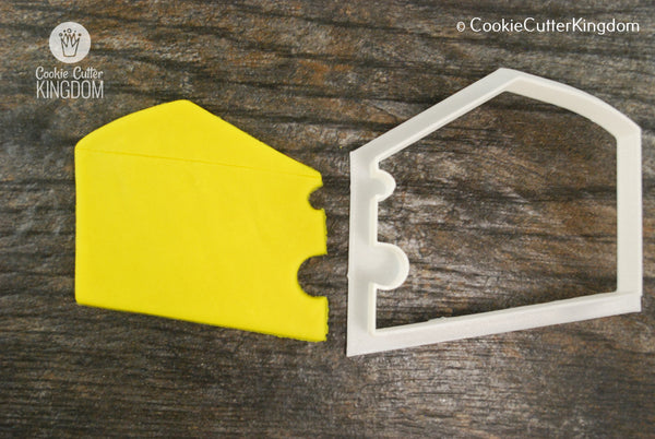 Slice of Cheese Cookie Cutter