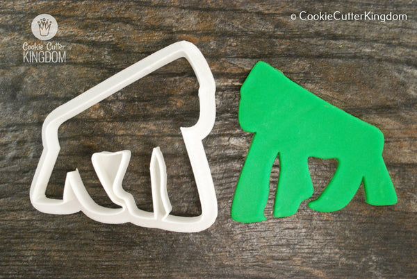 Gorilla Cookie Cutter