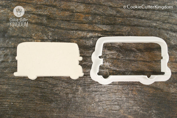 Double Decker Bus Cookie Cutter