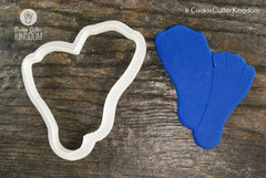 Swimming Fins Cookie Cutter