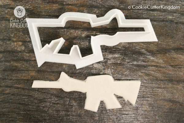 Machine Gun Cookie Cutter
