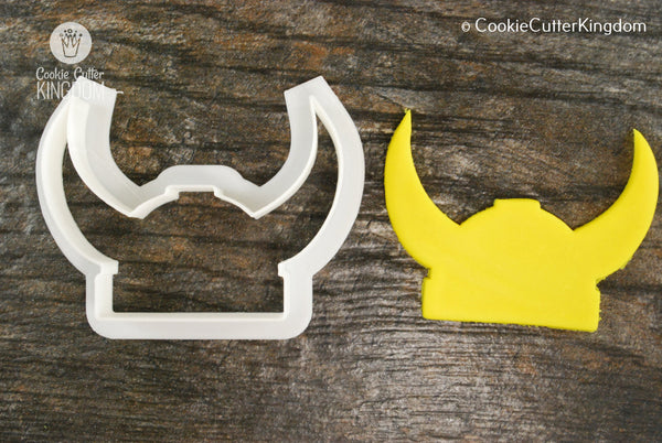 Viking Helmet Cookie Cutter