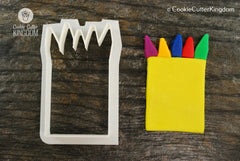 Crayons in a Box Cookie Cutter