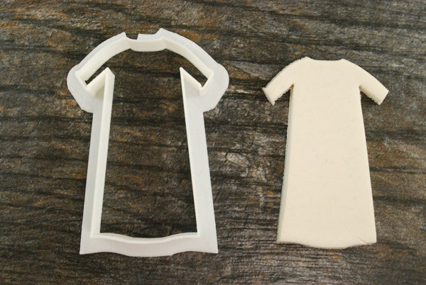 Christening Gown Cookie Cutter