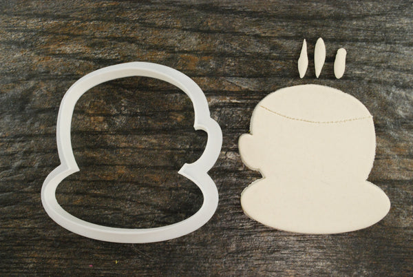 Coffee Cup and Dish Cookie Cutter