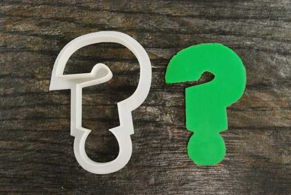 Question Mark Cookie Cutter