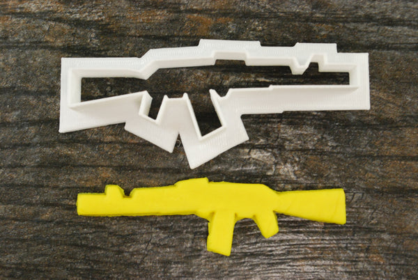 AK47 Gun Cookie Cutter