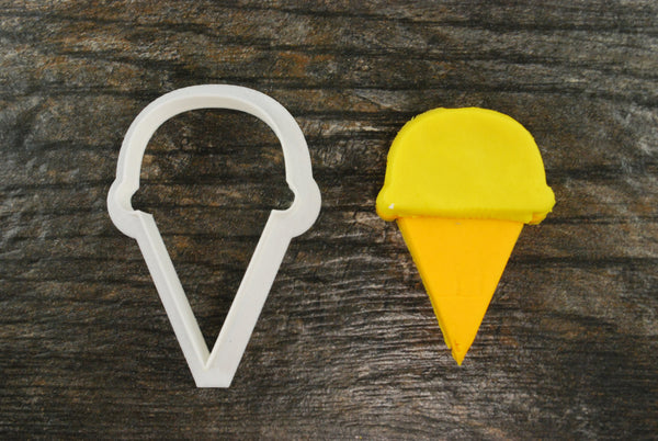 Ice Cream Cone Single Cookie Cutter