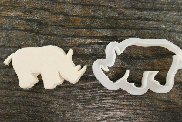 Rhinoceros Cookie Cutter