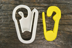 Safety Pin Cookie Cutter