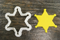 Sheriff / Police Badge Cookie Cutter