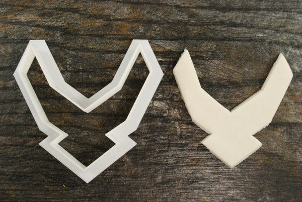 Airforce Symbol Cookie Cutter