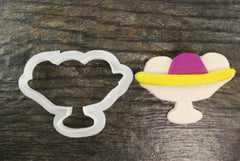 Ice Cream Sundae / Banana Split Cookie Cutter