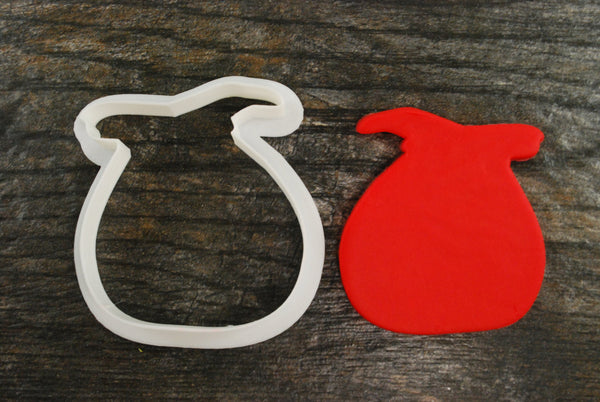 Santa's Toy Bag Cookie Cutter