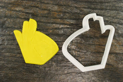 OK Sign Language Cookie Cutter