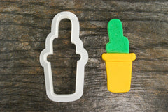 Potted Cactus Cookie Cutter