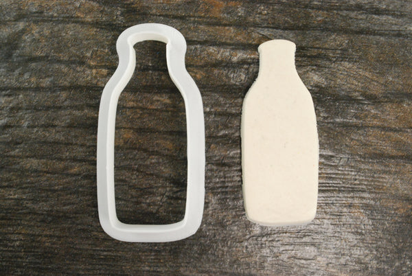 Milk Glass Bottle Cookie Cutter