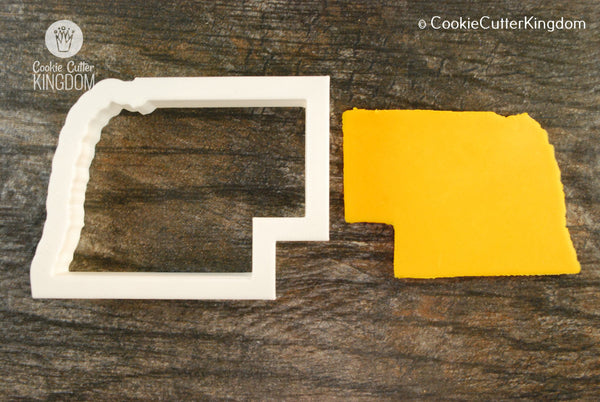 Nebraska State Cookie Cutter