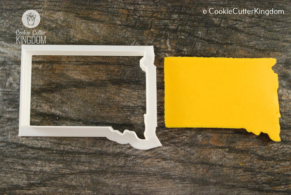 South Dakota State Cookie Cutter