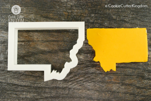 Montana State Cookie Cutter