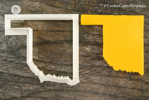 Oklahoma State Cookie Cutter
