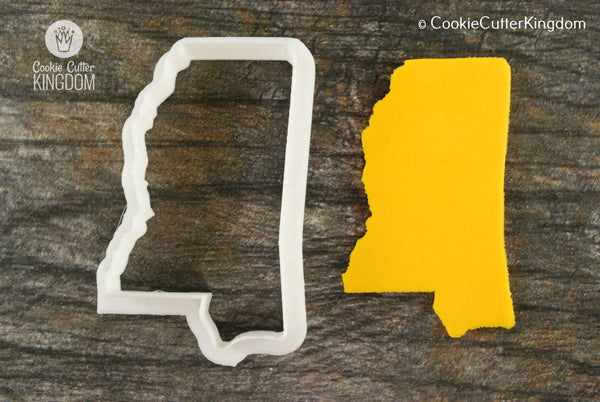 Mississippi State Cookie Cutter