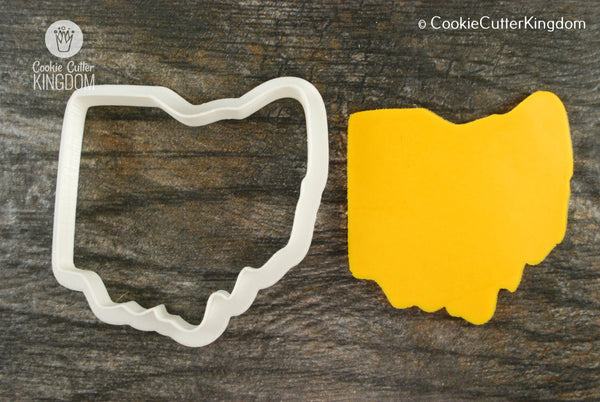 Ohio State Cookie Cutter
