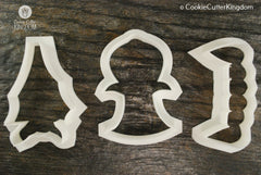3 Piece Vampire Cookie Cutter Set