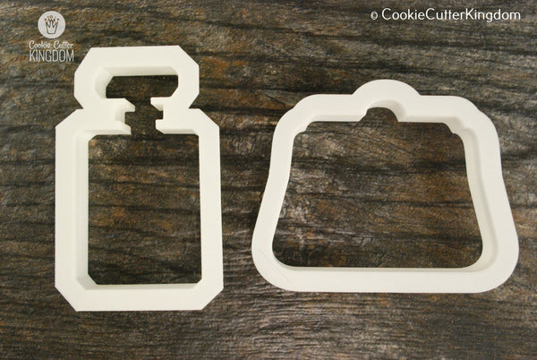 2 Piece Fashion Cookie Cutter Set