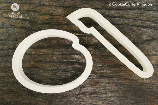 2 Piece Painting Cookie Cutter Set