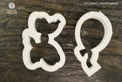 2 Piece Balloon Party Cookie Cutter Set