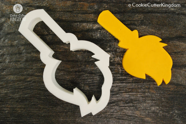 Witch's Broom Cookie Cutter