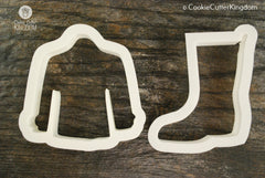 2 Piece Rainy Day Cookie Cutter Set