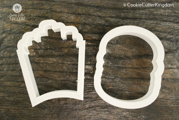 2 Piece Grilling Cookie Cutter Set