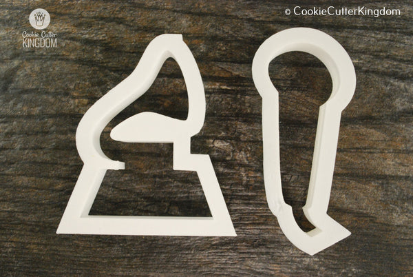 2 Piece Grammy Cookie Cutter Set