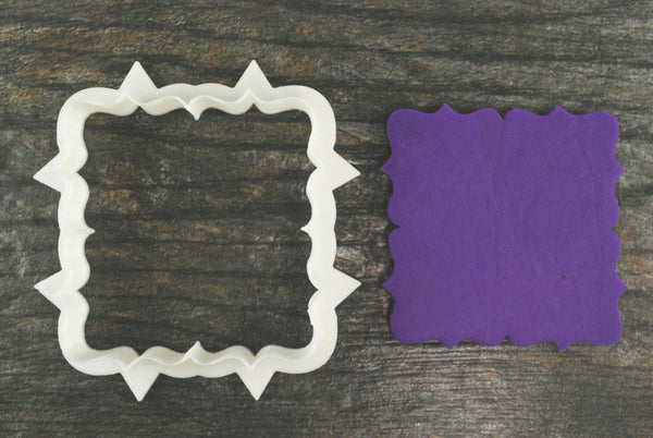 The Troy Plaque Cookie Cutter