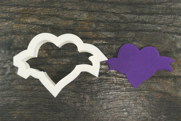 The Heart Banner Cookie Cutter