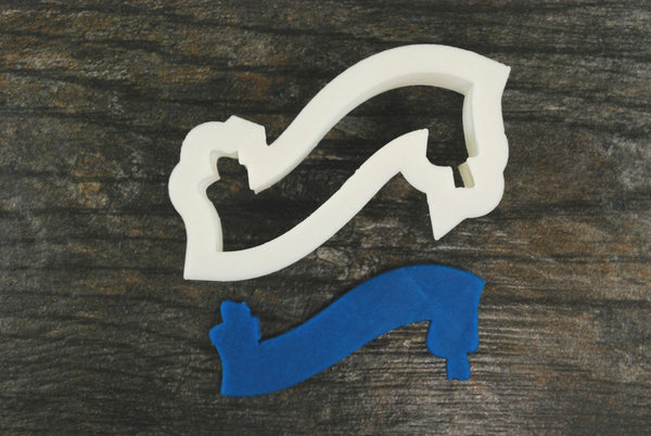 The Scroll Banner Cookie Cutter