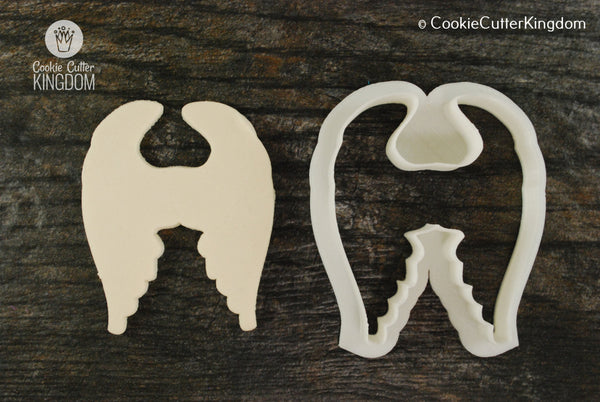 Large Angel Wings Cookie Cutter