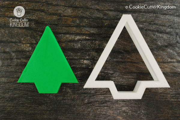 Triangle Christmas Tree Cookie Cutter