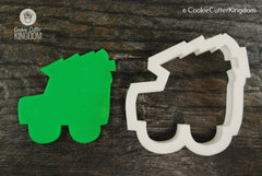 Jeep Carrying Christmas Tree Cookie Cutter