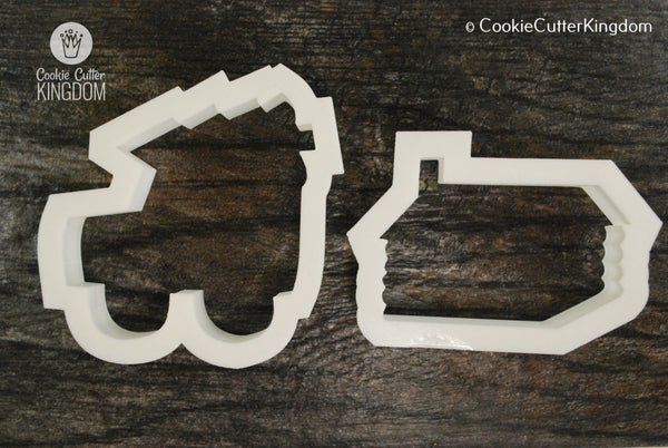 2 Piece Christmas Tree Haul Cookie Cutter Set