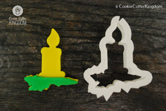 Christmas Candle Cookie Cutter