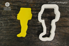Christmas Leg Lamp Cookie Cutter
