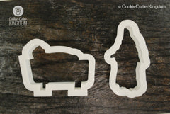 2 Piece Nativity Cookie Cutter Set