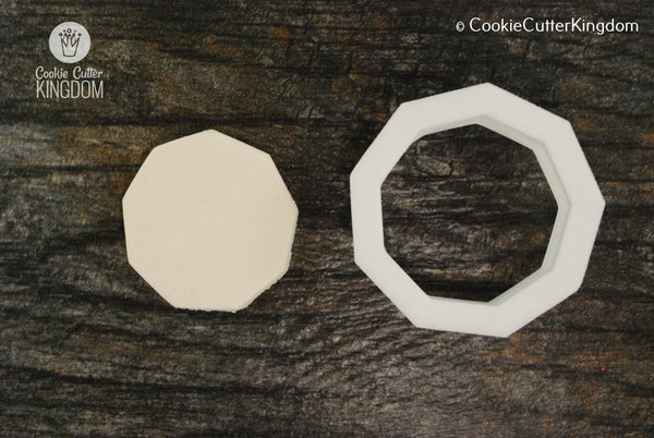 Nonagon Cookie Cutter
