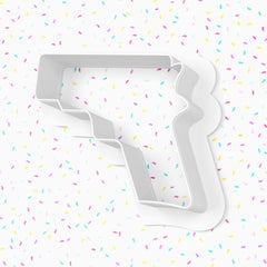 Hand Gun Cookie Cutter