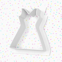Cheerleader Dress Cookie Cutter